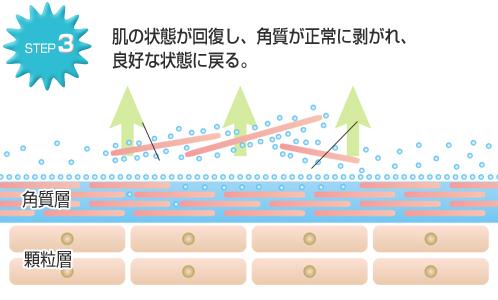 ナノリフレの肌ケアSTEP3