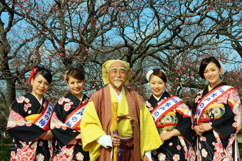 2012年2月22日偕楽園梅便り04