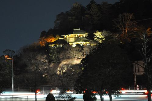 夜の偕楽園・夜梅祭2012-01