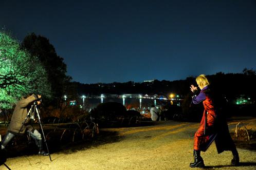 夜の偕楽園・夜梅祭2012-05