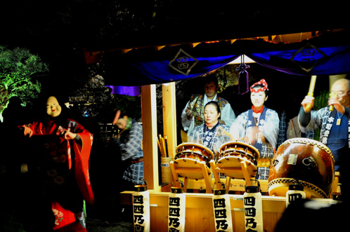夜の偕楽園・夜梅祭2012-06