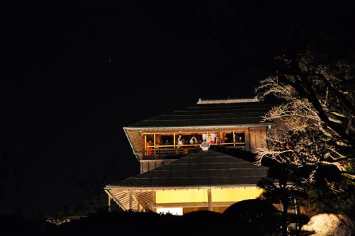 夜の偕楽園・夜梅祭2012-09