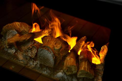 ディンプレックスの電気暖炉ピアモント03