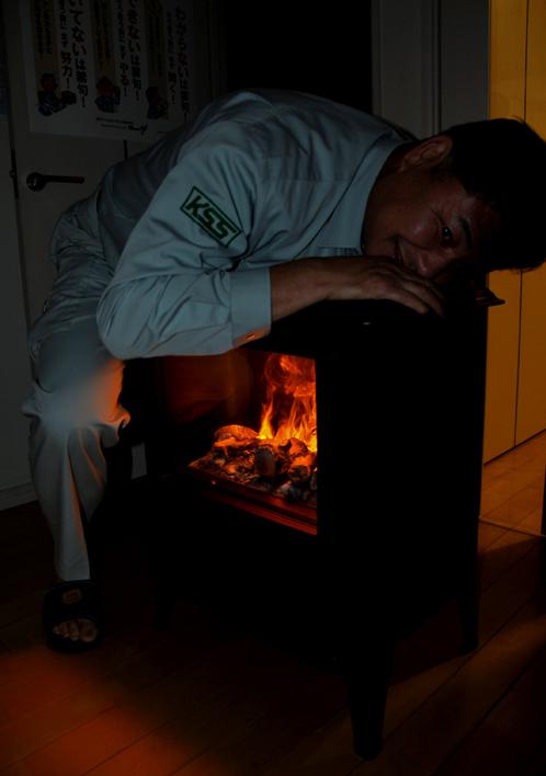 ディンプレックスの電気暖炉ピアモント04