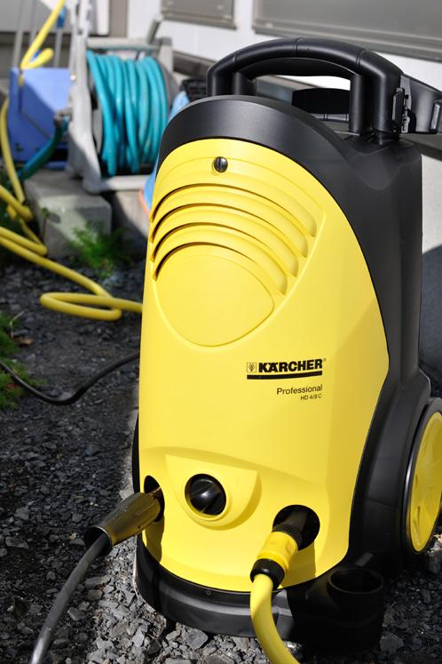 ケルヒャー・ジャパンさまの高圧洗浄機01