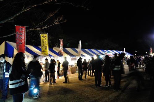 夜梅祭2013水戸偕楽園09