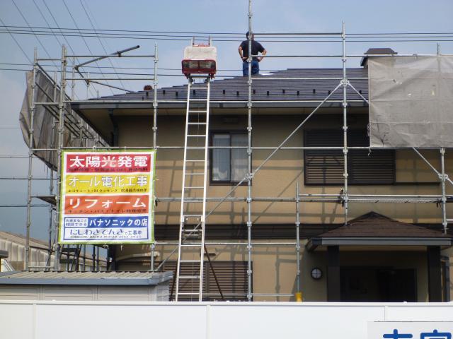太陽光発電&屋根改修塗装工事