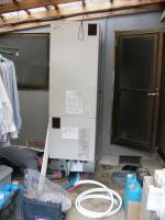 高取町で井戸水対応エコキュートを設置させていただきました。