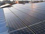 自社の太陽電池パネル2