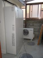 エコキュート設置(ガス併用)