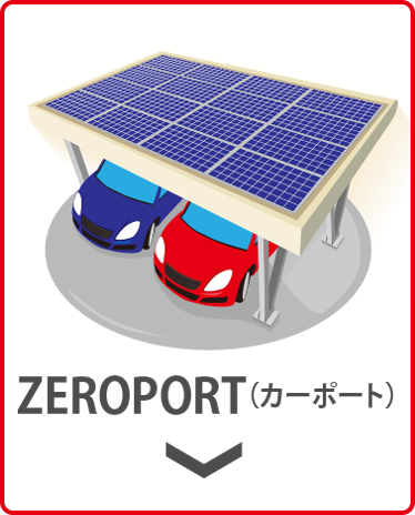 ZEROPORTカーポート